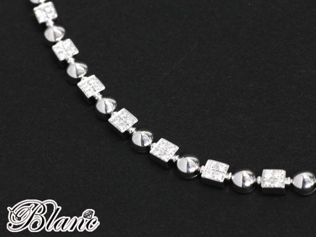 ブルガリ BVLGARI ◆ ルチア ダイヤモンドブレスレット