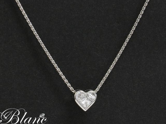 ブルガリ ◆ クオーレ ダイヤモンド ネックレス 750 K18WG