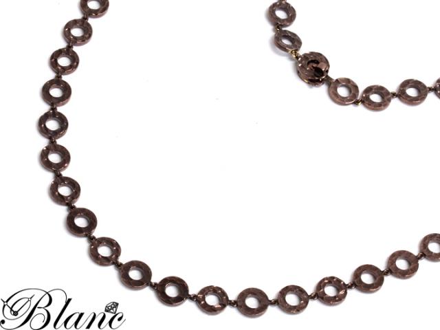 ブシュロン ◆ ブラウンゴールド ネックレス K18