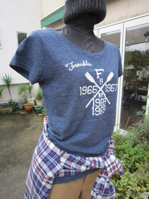 FRANKLIN&MARSHALL Tシャツ