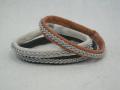 Saami Crafts レザーブレスレット AZ001