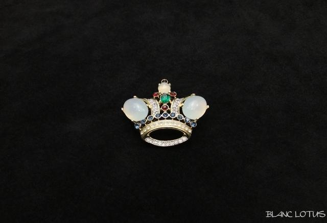 Trifari(トリファリ) 王冠のブローチ