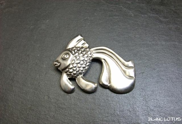 ヴィンテージブローチ 金魚