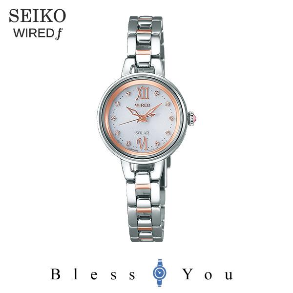 45f862734a セイコー SEIKO ソーラー 腕時計 レディース ワイアードエフ WIRED f AGED091 24,0.