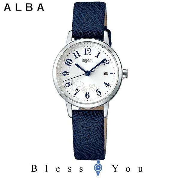 best service 735bc 0f47b セイコー SEIKO ALBA ingenu アルバ 腕時計 レディース アンジェーヌ レザーバンド AHJK442 8,0
