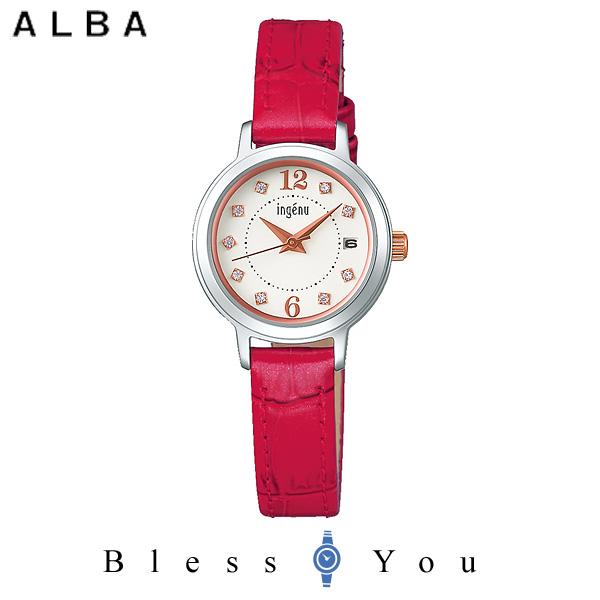 セイコー SEIKO ALBA ingenu アルバ 腕時計 レディース アンジェーヌ レザーバンド  AHJK712 10,0