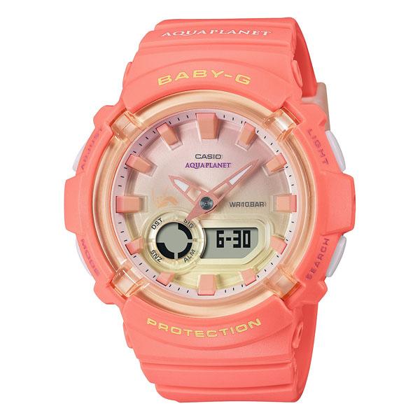 CASIO BABY-G カシオ 腕時計 レディース  ベビーG 2021年6月 BGA-280AQ-4AJR 14,0