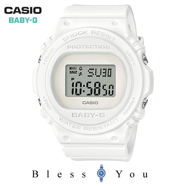 CASIO BABY-G カシオ 腕時計 レディース ベビーG 2019年8月新作 BGD-570-7JF 9,5
