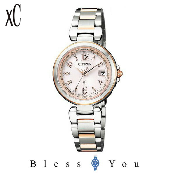 CITIZEN XC シチズン ソーラー電波 腕時計 レディース クロスシー EC1036-53W 58,0