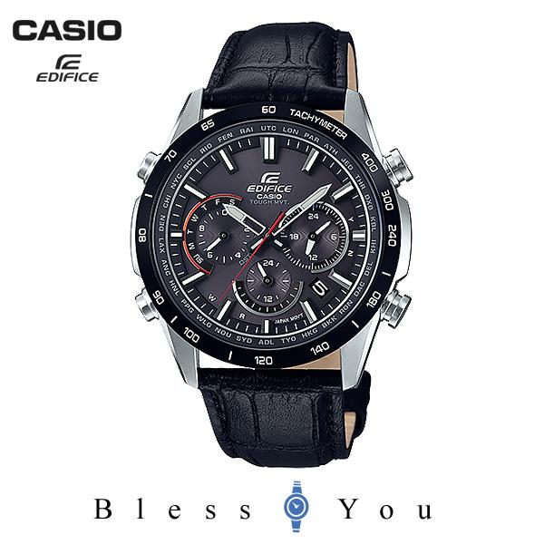 CASIO EDIFICE カシオ ソーラー電波 腕時計 メンズ エディフィス 2019年3月新作 EQW-T650BL-1AJF 46,0