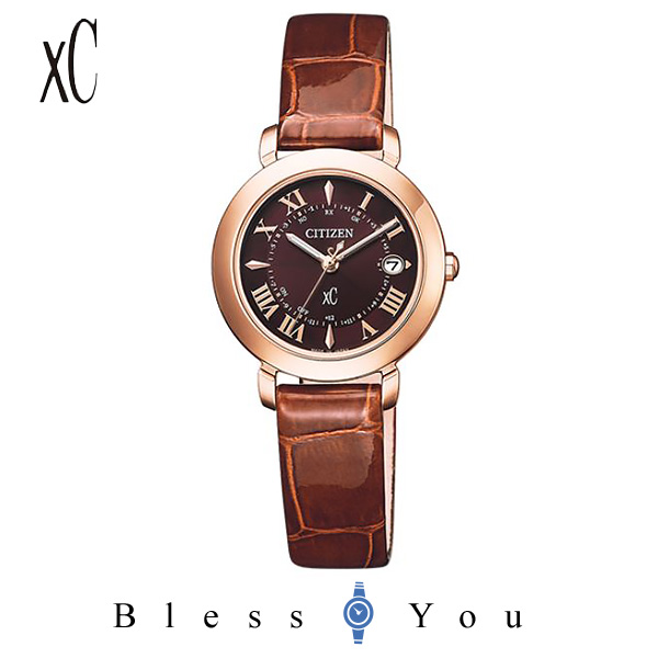 CITIZEN XC シチズン エコドライブ電波 腕時計 レディース クロスシー 2019年10月 ES9442-04W 75,0