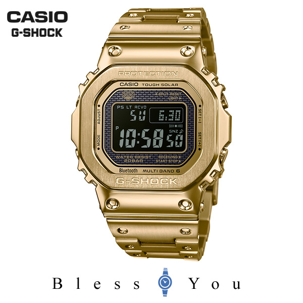 CASIO G-SHOCK カシオ 電波ソーラー 腕時計 メンズ Gショック 2018年9月 GMW-B5000GD-9JF