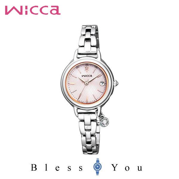 シチズン CITIZEN ウィッカ wicca 電波時計 レディース 腕時計 KL0-561-11