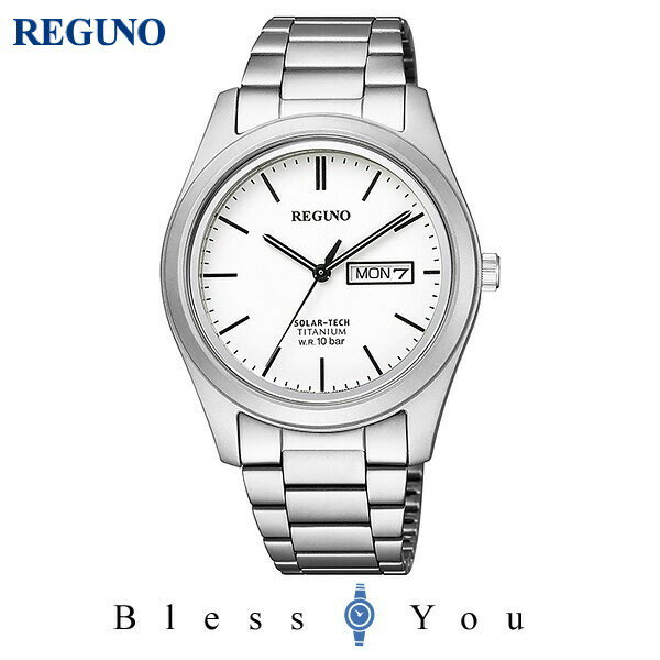 CITIZEN REGUNO シチズン ソーラー メンズ 腕時計 レグノ KM1-415-11 18,0