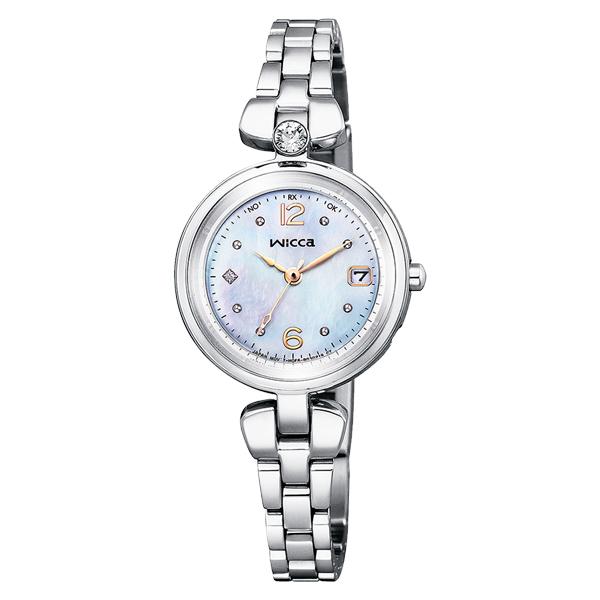CITIZEN wicca シチズン ソーラー電波 腕時計 レディース ウィッカ 2020年11月発売 KS1-619-91 35,0