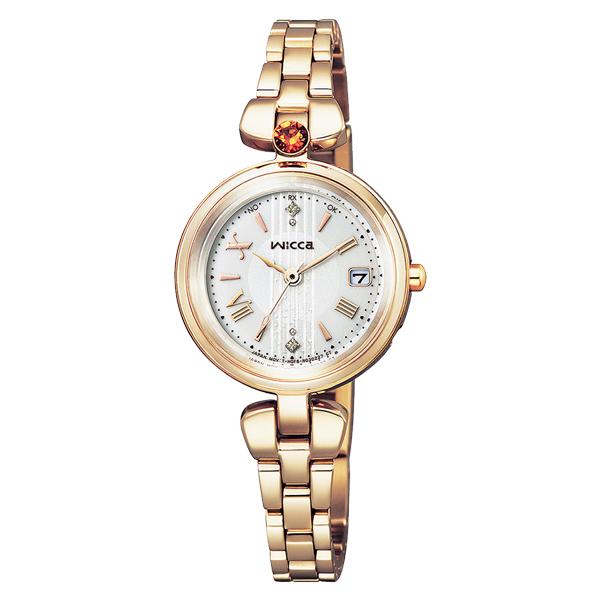 CITIZEN wicca シチズン ソーラー電波 腕時計 レディース ウィッカ 2020年11月発売 KS1-627-91 38,0