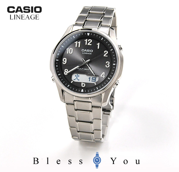 CASIO LINEAGE カシオ 電波ソーラー メンズ リニエージ LCW-M100TSE-1A2JF 34,0