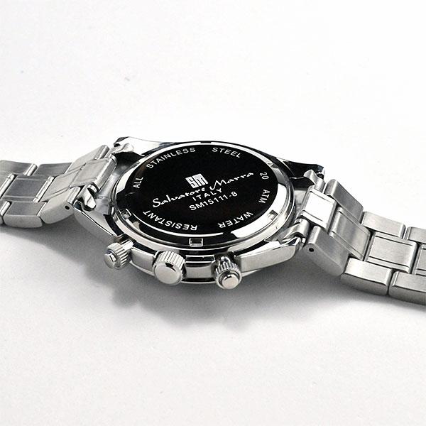 サルバトーレマーラ メンズ クロノグラフ SALVATORE MARRA 腕時計 SM15111RD