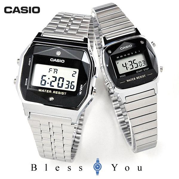 ペアウォッチ カシオ スタンダード デジタル 腕時計 CASIO A159WAD-1JF-LA670WAD-1JF 11,0