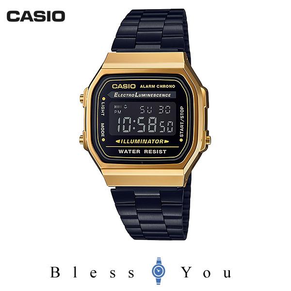 CASIO STANDARD カシオ 腕時計 メンズ スタンダード ネット限定モデル A168WEGB-1BJF