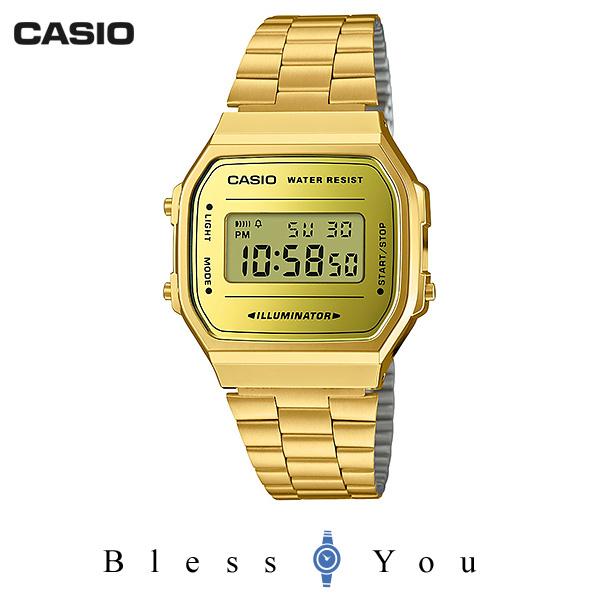 CASIO STANDARD カシオ 腕時計 メンズ スタンダード ネット限定モデル A168WEGM-9JF