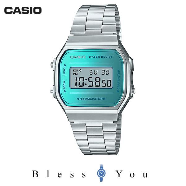 CASIO STANDARD カシオ 腕時計 メンズ スタンダード ネット限定モデル A168WEM-2JF