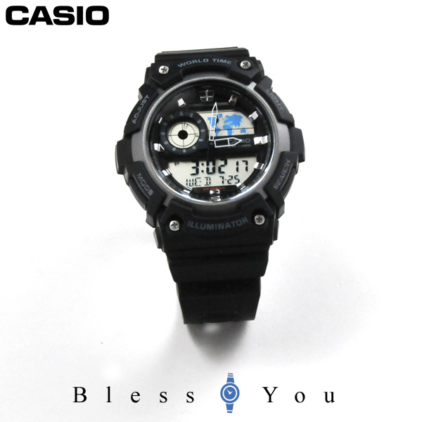 カシオ 腕時計 メンズ スタンダード aeq-200w-1ajf 5.5