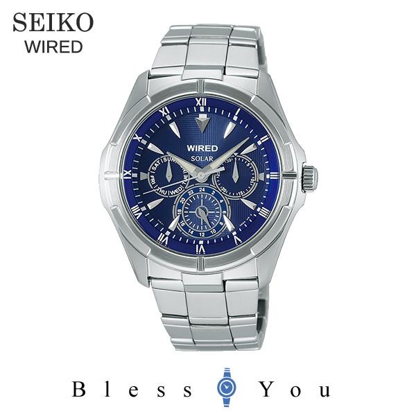 セイコー ソーラー 腕時計 メンズ ワイアード AGAD033 20,0