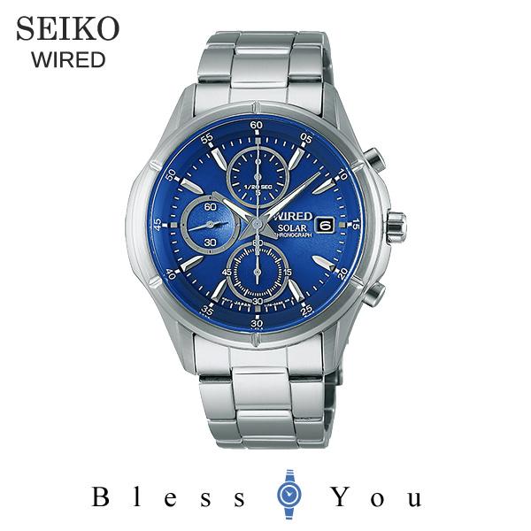 セイコー ソーラー 腕時計 メンズ ワイアード AGAD058 23,0