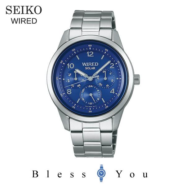 セイコー ソーラー 腕時計 メンズ ワイアード AGAD081 21,0