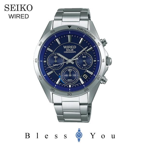 セイコー ソーラー 腕時計 メンズ ワイアード AGAD088 23,0