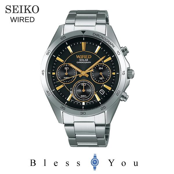セイコー ソーラー 腕時計 メンズ ワイアード AGAD089 23,0