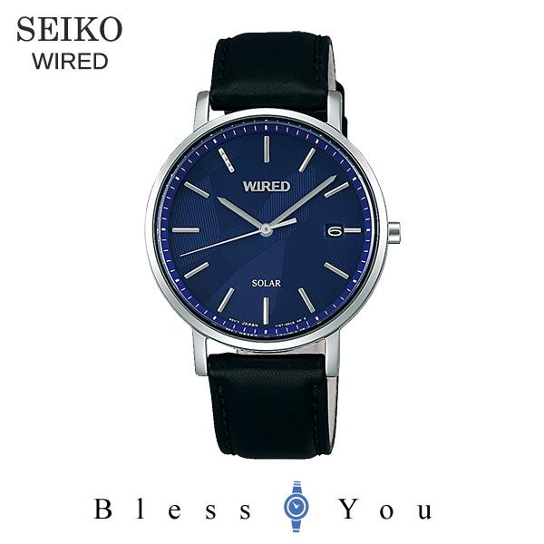 セイコー ワイアード ソーラー メンズ 腕時計 AGAD090 22,0
