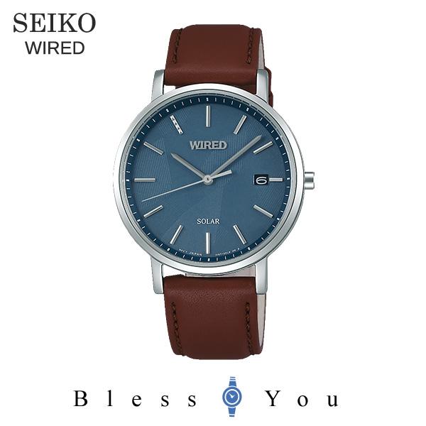 セイコー ワイアード ソーラー メンズ 腕時計 AGAD091 22,0
