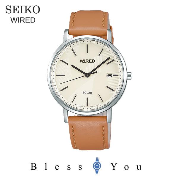 セイコー ワイアード ソーラー メンズ 腕時計 AGAD092 22,0