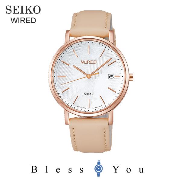 セイコー ワイアード ソーラー メンズ 腕時計 AGAD093 22,0
