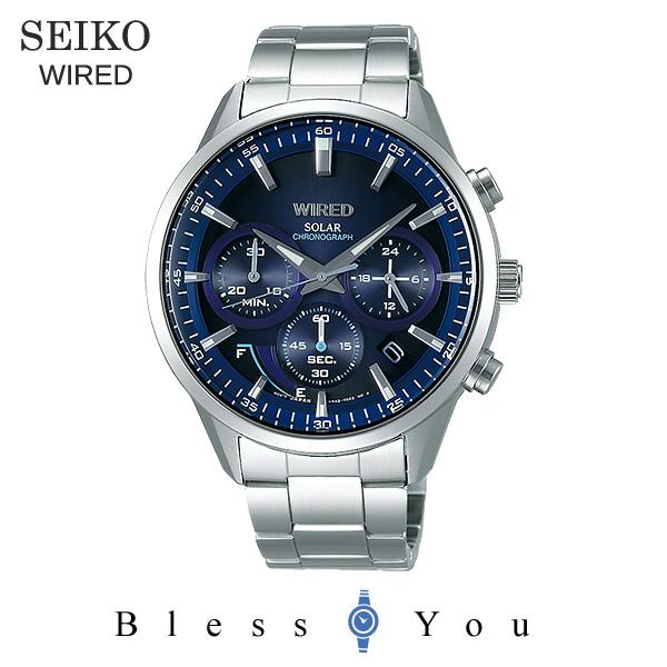 SEIKO WIRED セイコー ソーラー 腕時計 メンズ ワイアード 2018年5月 AGAD094 28,0