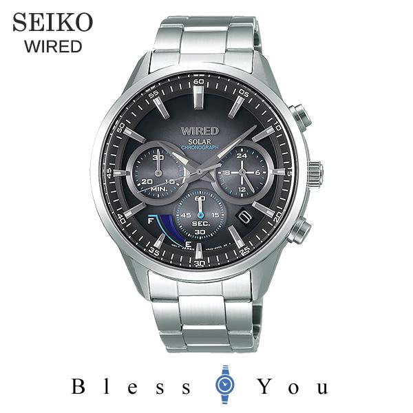 SEIKO WIRED セイコー ソーラー 腕時計 メンズ ワイアード 2018年5月 AGAD095 28,0