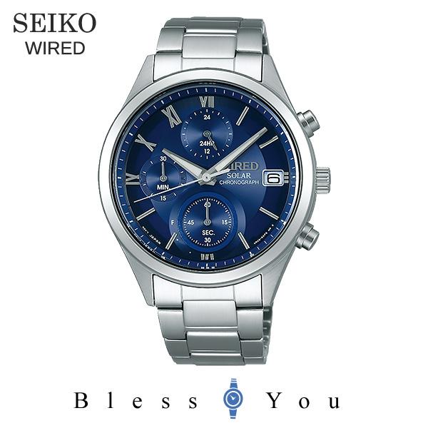 SEIKO WIRED セイコー ソーラー 腕時計 メンズ ワイアード ペアモデル 2018年10月 AGAD096 23,0