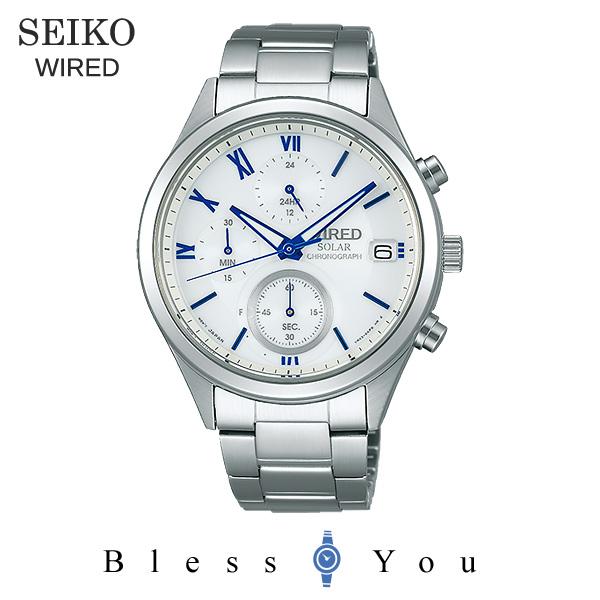 SEIKO WIRED セイコー ソーラー 腕時計 メンズ ワイアード ペアモデル 2018年10月 AGAD097 23,0