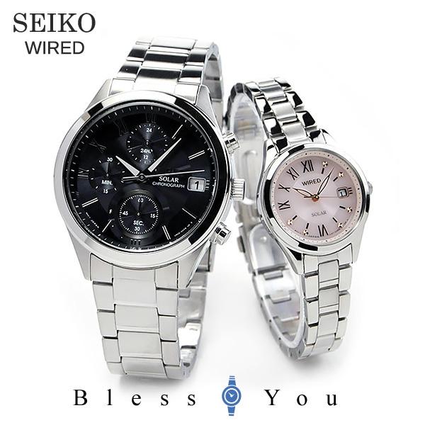 SEIKO WIRED セイコー ワイアード ペアスタイル ペアウォッチ 腕時計 AGAD098-AGED105 44,0 12n