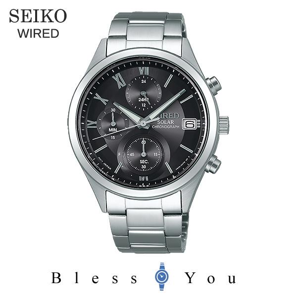 SEIKO WIRED セイコー ソーラー 腕時計 メンズ ワイアード ペアモデル 2018年10月 AGAD098 23,0