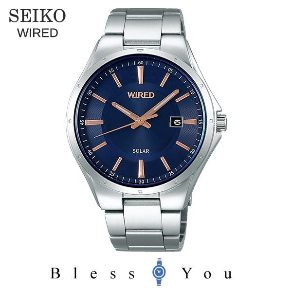 SEIKO WIRED セイコー ソーラー 腕時計 メンズ ワイアード AGAD401 18,0
