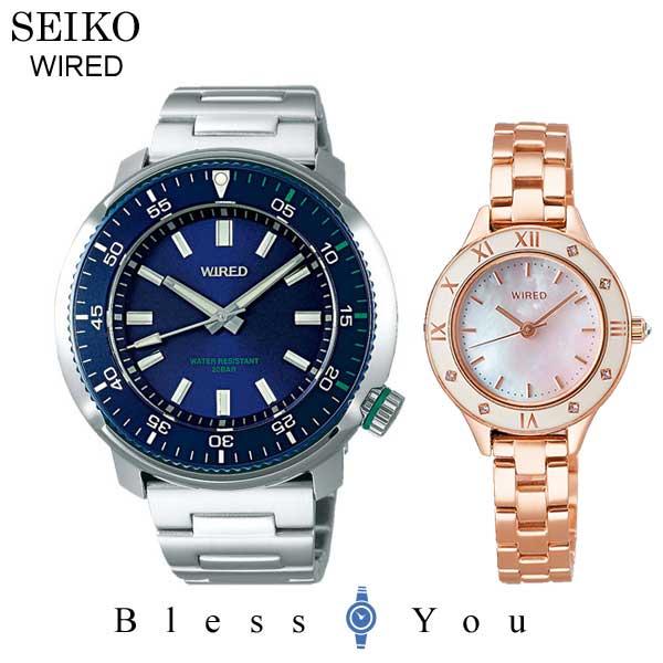 SEIKO WIRED WIREDf セイコー ワイアード & ワイアードエフ ペアウォッチ 腕時計 AGAJ405-AGEK441 42,0