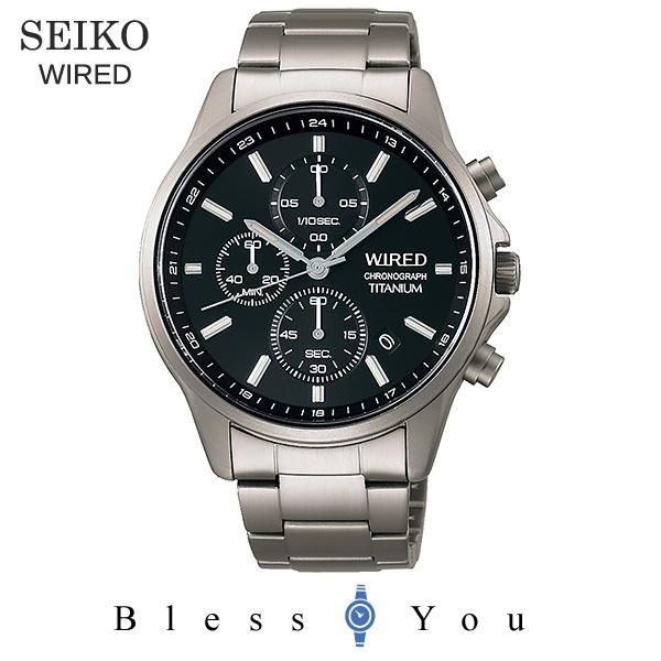 SEIKO WIRED セイコー 腕時計 メンズ ワイアード 2019年6月 クロノグラフ AGAT426 20,0