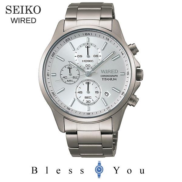 SEIKO WIRED セイコー 腕時計 メンズ ワイアード 2019年6月 クロノグラフ AGAT427 20,0