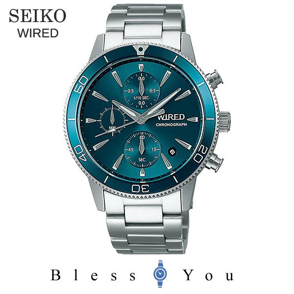 SEIKO WIRED セイコー 腕時計 メンズ ワイアード 2019年6月 クロノグラフ AGAT429 22,0