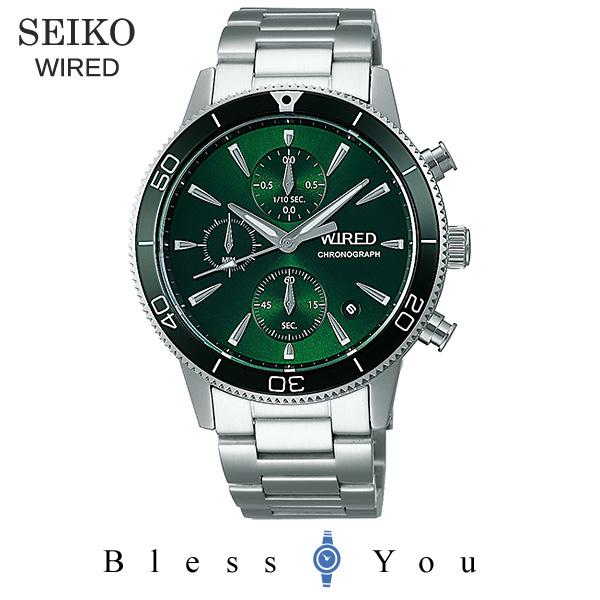 SEIKO WIRED セイコー 腕時計 メンズ ワイアード 2019年6月 クロノグラフ AGAT430 22,0