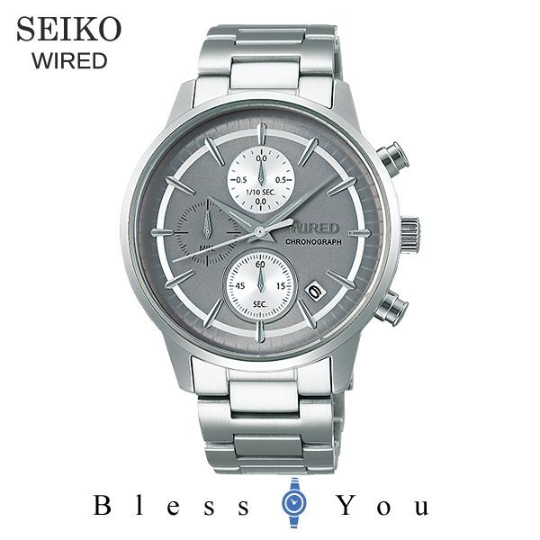 SEIKO WIRED セイコー 腕時計 メンズ ワイアード 2019年5月 クロノグラフ AGAT431 22,0