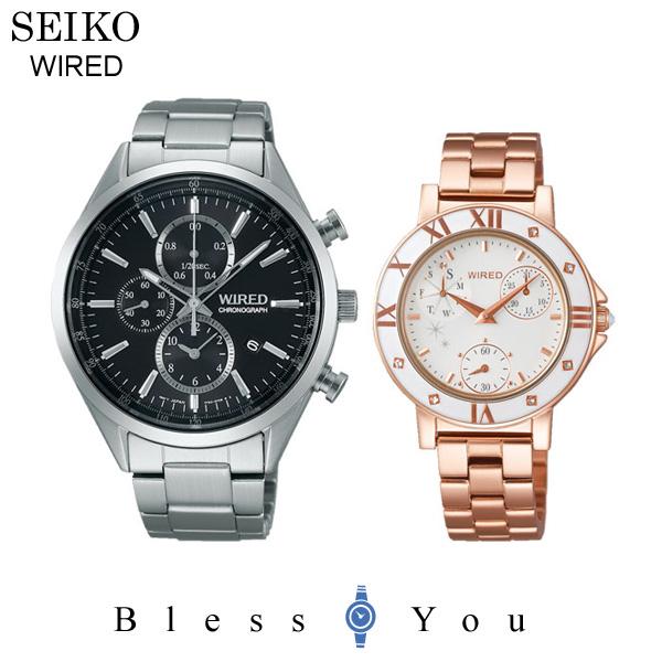 SEIKO WIRED セイコー ペアウォッチ ワイアード&ワイアードエフ AGAV109-AGET401 40,0